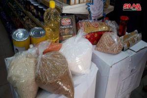 السورية للتجارة تبدأ بيع السلة الغذائية بقيمة 10 آلاف ليرة.. وهذه هي المواد
