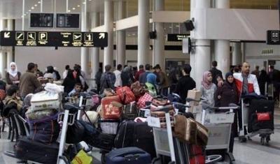 الداخلية اللبنانية تعمم على جميع شركات الطيران إرجاع السوريين من مطاره