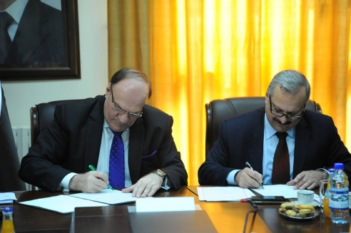 توقيع مذكرة تفاهم بين وزارة التنمية الادارية ونقابة المهندسين