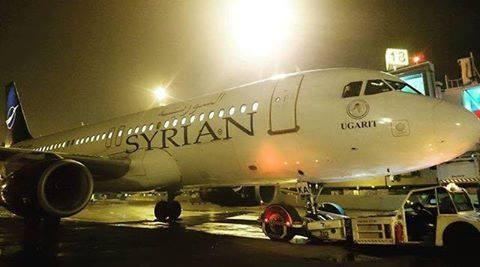 السورية للطيران توقف رحلاتها الجوية..ولهذا السبب تعطلت الطائرة الوحيدة لديها في