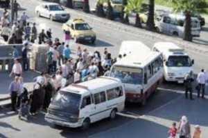 سرافيس ريف دمشق ترفع التعرفة..والحجة ارتفاع أجور الإصلاح