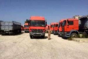 وزير النقل: إعادة تشغيل شاحنات الشركة السورية الأردنية