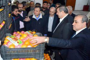 وزير التموين: عملية تسويق الحمضيات مريحة.. وقانون جديد لتنظيم عمل أسواق الهال