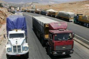 وزارة النقل تعد تشريع إنقاذي لقطاع نقل البضائع