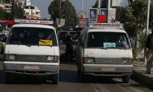 محافظة ريف دمشق تعدل أسعار نقل الركاب والبضائع للسيارت العاملة على المازوت