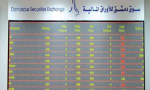 خبير اقتصادي: المهمة اليوم  إعادة التوازن لبورصة دمشق من خلال عودة الثقة للمستثمرين