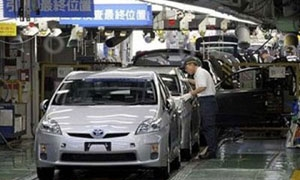 الإنتاج الصناعي في اليابان ينخفض بنسبة 2.1 %