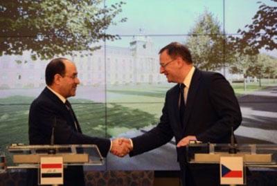 توقيع اتفاقية للتعاون الاقتصادي بين تشيكيا والعراق