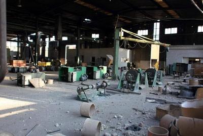 وزارة الصناعة: اكثر من 3 مليارات ليرة سورية  الأضرار الصناعية بحلب