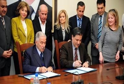 اتفاقية تعاون بين كلية السياحة وغرفة تجارة دمشق