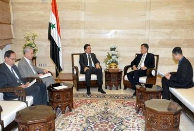 الحلقي يجدد دعوته رجال الأعمال والشركات الصينية للاستثمار في سورية