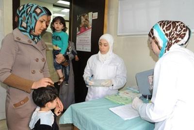 وزير الصحة: نعمل للعودة بسورية خالية من مرض شلل الأطفال