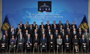 مجموعة العشرين تتبنى هدفاً للنمو العالمي