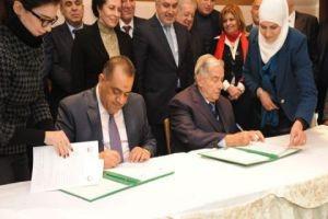 توقيع اتفاق بين اتحادي غرف التجارة في سورية والعراق لتأسيس غرفة مشتركة