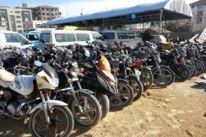 مصادرة 700 دراجة نارية في دمشق منذ بداية 2017
