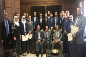 بنك سورية الدولي الإسلامي يكرم موظفيه الحاصلين على شهادة المدير المصرفي الإسلامي المعتمد