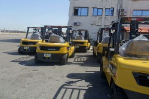 آليات جديدة لشركة محطة حاويات اللاذقية الدولية بـ 100 مليون ليرة