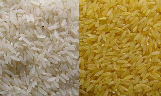 رفض شحنة من الرز الهندي المقشور