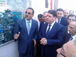 رئيس الحكومة يدشن مشاريع خدمية في اللاذقية بكلفة تزيد عن 20 مليار ليرة