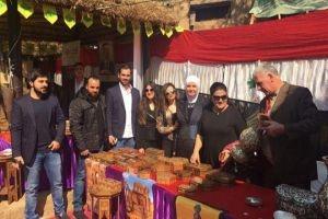 سورية تشارك بالمعرض العالمي للحرف اليدوية بالهند