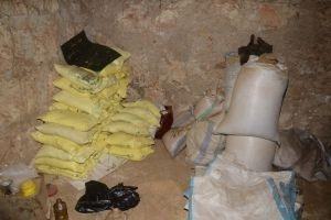 ضبط مستوع يحتوي كميات كبيرة من مواد غذائية منتهية الصلاحية في حلب