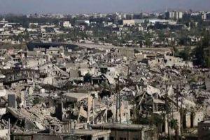 الحكومة ترصد 450 مليار ليرة لإعادة إعمار الغوطة الشرقية