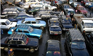 495 ألف سيارة في شوارع دمشق