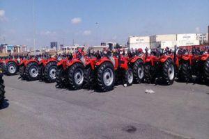 سورية تستورد 100 جرار زراعي من الصين