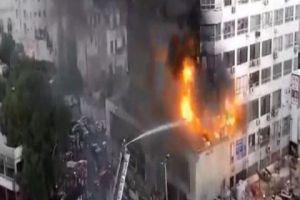 على خلفية حريق برج دمشق..تشكيل لجنة للتحقق من اشتراطات السلامة وعوامل الإنقاذ