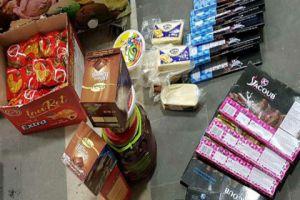 ضبط مواد غذائية منتهية الصلاحية...وتسمم أطفال قاموا بشراء النوكا والعصائر!