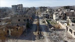 تشكيل لجان لـ 16 منطقة وتجمعاً سكنياً في الغوطة الشرقية لتقييم الأضرار