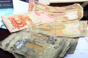 المركزي يستبدل أموالاً مشوهة لـ139 مواطناً قيمتها 25 مليون ليرة