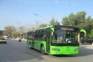 دمشق على موعد مع 100 باص نقل داخلي جديد خلال العام الحالي