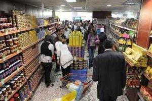 ربع مليار ليرة مبيعات استهلاكية دمشق في النصف الأول من الشهر الحالي