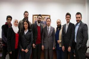 بنك البركة سورية يكرّم طلاب المعهد العالي لإدارة الأعمال الحاصلين على منحة البركة