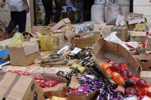 مواد غذائية مجهولة المصدر تباع في ندوات المشافي!