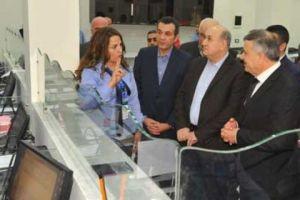 وزير الكهرباء يدشن النافذة الواحدة في كهرباء دمشق