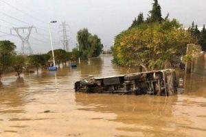 محافظ ريف دمشق يقترح حفر قناة حول عدرا الصناعية.. وإحصاء الأضرار ورفعها للحكومة للتعويض