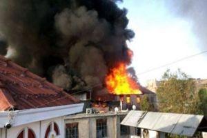 أكثر من أربعين محلاً تضررت..حريق سوق العصرونية بدمشق يخلف خسائر بعشرات الملايين والأسباب مجهولة!
