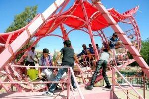 تحديد مواقع ألعاب الأطفال في دمشق خلال عطلة عيد الفطر