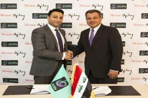 شركة ميماك أوجلفي تفوز بعقد مع زين العراق للاتصالات