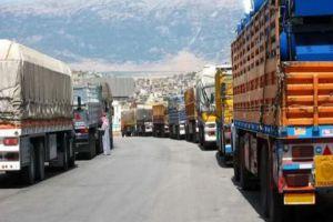 الموافقة على استثناء الشاحنات الناقلة للمواد الأساسية من شرط الحمولة