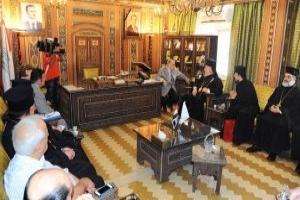 وفد قبرصي بغرفة تجارة دمشق لإعادة النظر في العلاقات الأوروبية مع سورية