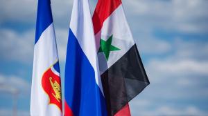 وفد أعمال سوري يصل إلى القرم
