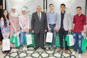 للعام الثاني بنك سورية الدولي الإسلامي يكرم الأوائل في الشهادة الثانوية