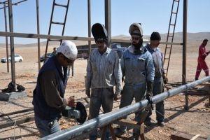 افتتاح بئري قارة 3 وصدد 9 الغازيين بطاقة إنتاجية نصف مليون م3