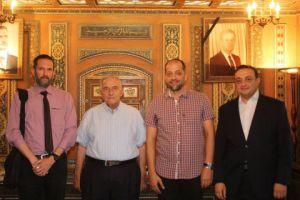 القلاع: ساهمنا مع الحكومة في تعزيز الاقتصاد السوري لمواجهة العقوبات الظالمة
