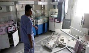 بسبب الحرب في سورية..خروج 33 مشفى عام عن الخدمة وأكثر من 600 مركز صحي