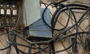 مرسوم تشريعي بمعاقبة مستجري الكهرباء بطرق غير مشروعة