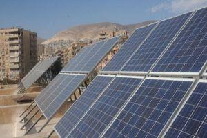 إنجاز مشروعين لتوليد الكهرباء بالطاقة الشمسية في دمشق